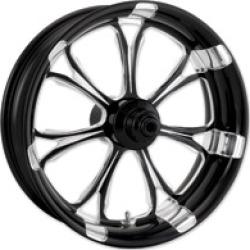 "Performance Machine Paramount Contrast Cut Platinum Front Wheel, 18"" X 3.5"""