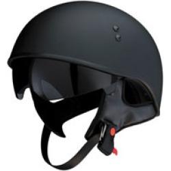 Z1R Vagrant Matte Black Half Helmet