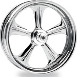 "Performance Machine Wrath Chrome Rear Wheel, 17"" x 6"""