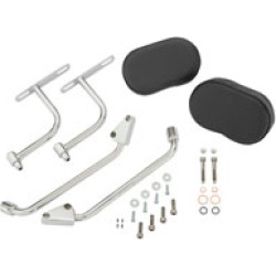 Show Chrome Accessories Black Deluxe Passenger Armrests found on Bargain Bro India from J&P Cycles for $279.99