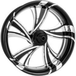"""Xtreme Machine Black Cut Xquisite Forged Cruise Front Wheel, 18"""" x 3.5"""""""