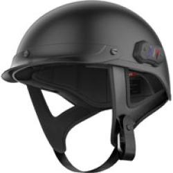 Sena Technologies Cavalry Lite Bluetooth Matte Black Half Helmet