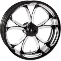 "Performance Machine Luxe Platinum Cut Front Wheel, 18"" x 3.5"""