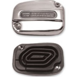 J & P Cycles OEM-Style Front Brake Master Cylinder Cover