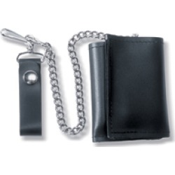 Carroll Leather Leather Trifold Chain Wallet found on Bargain Bro Philippines from J&P Cycles for $12.99
