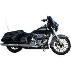 "Coastal Moto Atlantic 18"" x 5.5"" Rear Wheel Package Black with ABS"