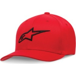 Alpinestars Youth Ageless Red/Black Curved Bill Hat found on Bargain Bro Philippines from J&P Cycles for $24.50