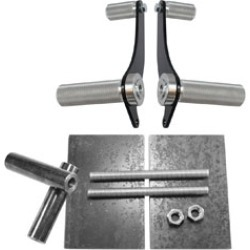 TC Bros. Choppers Universal Forward Controls with Mounting Kit