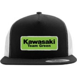 Factory Effex Men's Kawasaki Team Green Black/White Snapback Hat found on Bargain Bro Philippines from J&P Cycles for $24.95