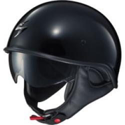 Scorpion EXO EXO-C90 Gloss Black Half Helmet