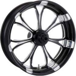 "Performance Machine Paramount Platinum Black Rear Wheel, 18"" x 5.5"""