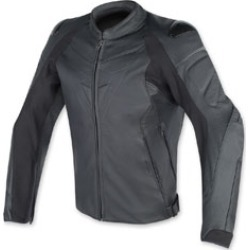 Dainese Men's Fighter Black Leather Jacket found on Bargain Bro Philippines from J&P Cycles for $699.95