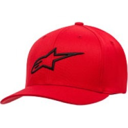 Alpinestars Men's Ageless Red Curved Bill Hat found on Bargain Bro Philippines from J&P Cycles for $25.95