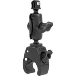 Ram Mount Tough-Claw Small Clamp Mount with Universal Action Camera Adapter