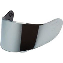 Speed and Strength SS2100 Silver Iridium Face Shield