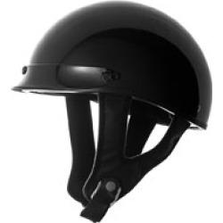 Speed and Strength SS510 Gloss Black Half Helmet