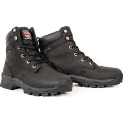 Milwaukee Motorcycle Clothing Co. Men's Expedition Black Leather Boots