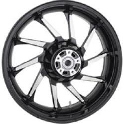 "Coastal Moto Hurricane Black Rear Wheel, 18"" x 5.5"" ABS"