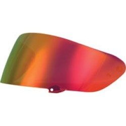 FLY Racing Street Sentinel Red Mirror Face Shield