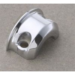 J & P Cycles Replacement Chrome Clutch/Brake Clamp Half
