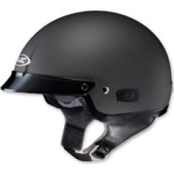 HJC IS-2 Matte Black Half Helmet