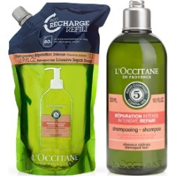 Intensive Repairing Shampoo Refill Duo found on Makeup Collection from L'Occitane UK for GBP 47.78