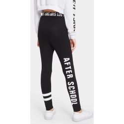 Girls Slogan Graphic Leggings found on Bargain Bro India from SHEIN for $8.51