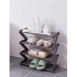 1pc Random Four Layer Z-shaped Storage Rack