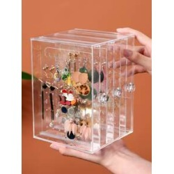 Clear Jewelry Storage Rack