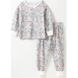 Toddler Girls All Over Floral Print PJ Set found on Bargain Bro from Sheinside for USD $9.12