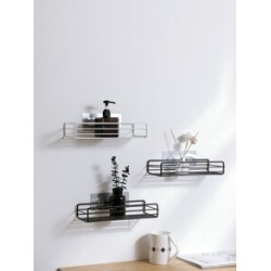 Wall Mounted Drain Storage Rack 1pc