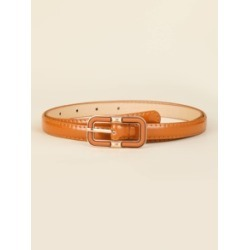Geo Buckle Skinny Belt found on MODAPINS from Sheinside for USD $3.50