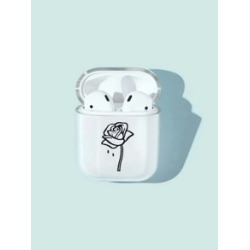 Rose Print AirPods Case