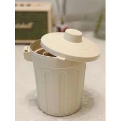 1pc Mini Desktop Trash Can