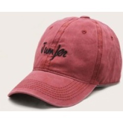Letter Embroidery Stitching Baseball Cap found on Bargain Bro India from Sheinside for $4.00