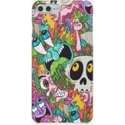 Exaggerated Comic iPhone Case
