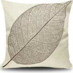 Leaf Print Cushion Cover found on Bargain Bro from Sheinside for USD $1.90