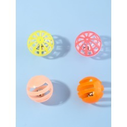 4pcs Cat Balls With Bells found on Bargain Bro India from SHEIN for $3.77