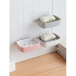 Wall Mount Soap Storage Rack 1pc