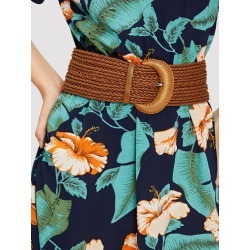 Braided Wide Belt found on Bargain Bro India from SHEIN for $8.51