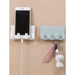 Wall Mounted Multi-function Storage Rack 1pc