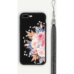 Floral iPhone Case With Lanyard