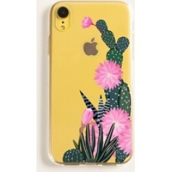Floral Transparent iPhone Case