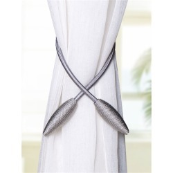 Bendable Curtain Holder Tieback 1pair found on Bargain Bro India from SHEIN for $8.51