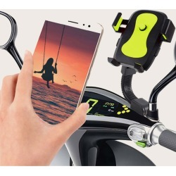 Color Block Motorcycle Mobile Phone Holder