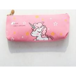 Unicorn Print Pencil Case