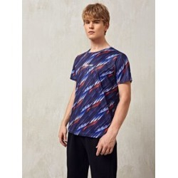 Men Letter & Geo Print Sports Tee found on MODAPINS from Sheinside for USD $16.00
