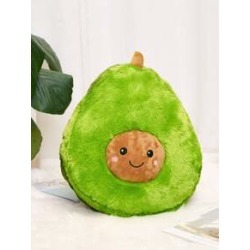 Avocado Shaped Decorative Pillow found on Bargain Bro India from Sheinside for $15.00