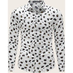 Men All Over Floral Print Shirt found on Bargain Bro from SHEIN for USD $21.39