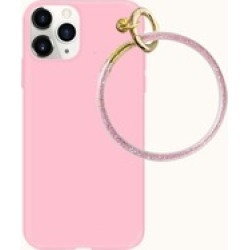 Plain Phone Case With Round Ring found on Bargain Bro Philippines from Sheinside for $3.00